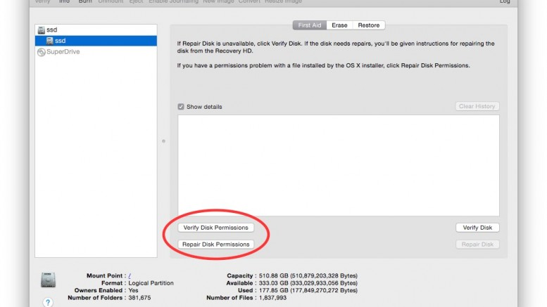 General Maintenance for you Mac pt.1 Repairing Disk Permissions
